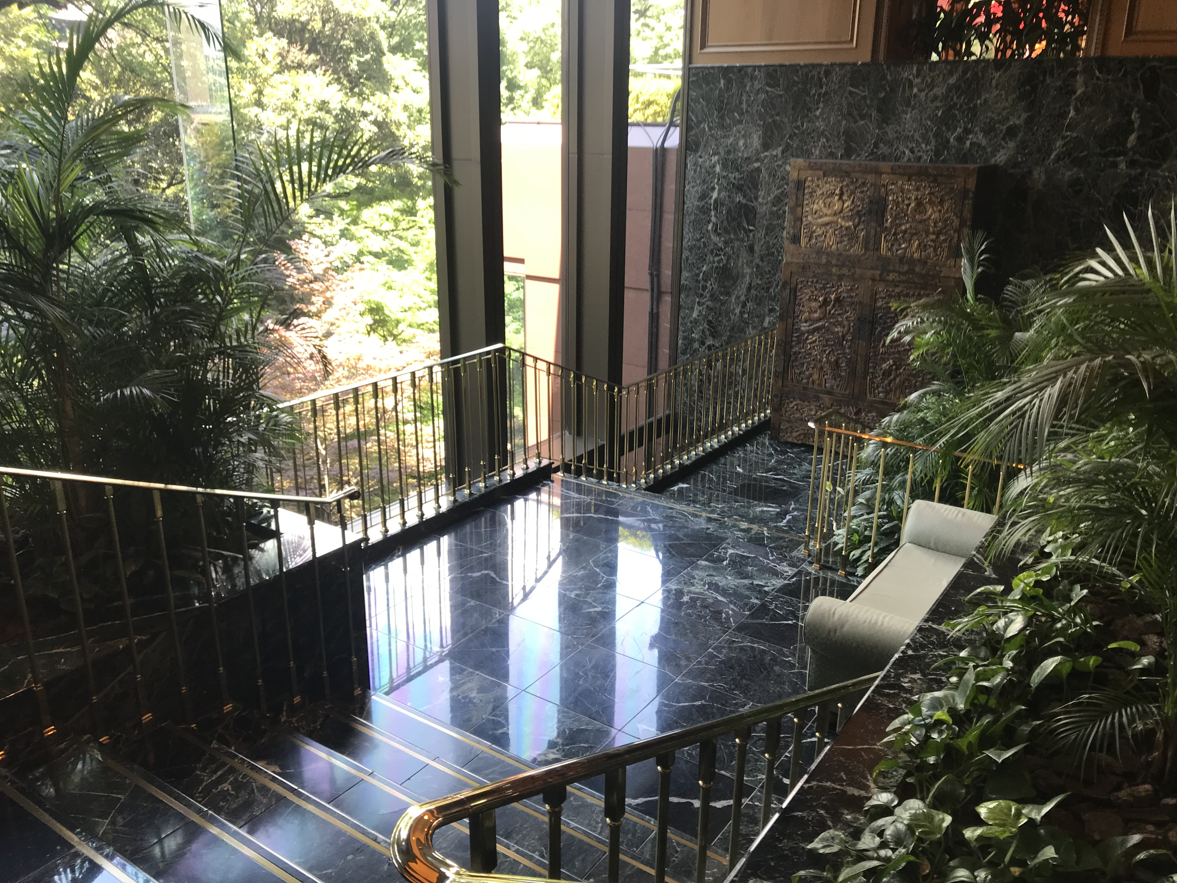 椿山荘前撮りスポット人気大階段