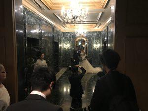 ホテル棟エレベーターホール前