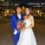 東京駅結婚式の前撮り写真