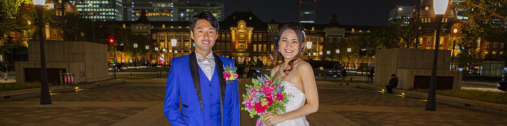 東京駅 前撮りロケーション撮影